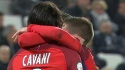 Os gols de Bordeaux 0 x 3 Paris Saint-Germain pela 25ª rodada do Campeonato Francês