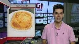 G1 em 1 Minuto: Aprenda como fazer uma deliciosa torta de camarão com molho ao sugo