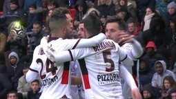 Os gols de Rennes 2 x 2 Nice pela 25ª rodada do Campeonato Francês