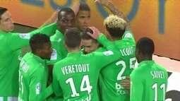 Os gols de Saint Etienne 4 x 0 Lorient pela 25ª rodada do Campeonato Francês