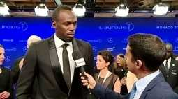 Bolt fala sobre chance em prêmio Laureus