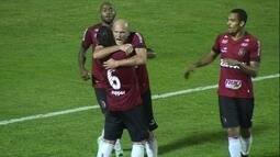 Os gols de Brasil de Pelotas 2 x 1 Criciúma pela 2ª rodada da Copa da Primeira Liga