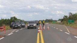Exército realiza fiscalizações em área de fronteira, em Roraima