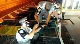 Polícia Rodoviária apreende armamento pesado em Itatinga