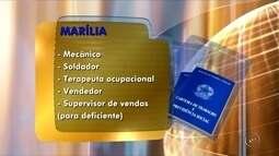 Confira as oportunidades de emprego no PAT de Marília