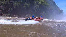 Plug encara rafting nas Cataratas do Iguaçu (parte 1)