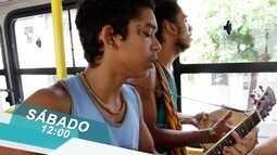 Chamada: Um passeio de ônibus divertido no Destaque VM deste sábado (18)
