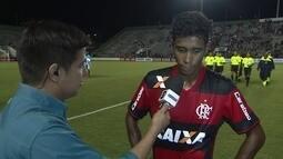 """Gabriel: """"Fizemos um jogo com muita determinação"""""""