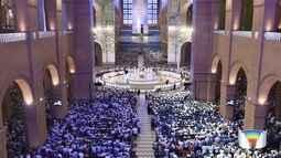 Romaria do terço dos homens reuniu mais de 70 mil em Aparecida