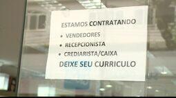 Em Cachoeiro, ES, busca por emprego tem concorrência e poucas vagas