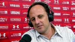 Rogério Ceni comenta empate com o Mirassol e diz que o time não teve tranquilidade