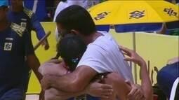 Elize/Taiana 2 a 1 Fernanda/Barbar pelo Circuito Brasileiro de vôlei de praia