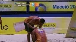 André/Evandro 1 x 2 Saymon/Alvaro pela final do Circuito Brasileiro de vôlei de praia