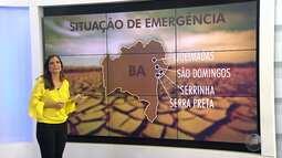 Cresce número de cidades baianas em situação de emergência por causa da seca