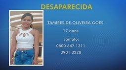 Família procura por adolescente desaparecida