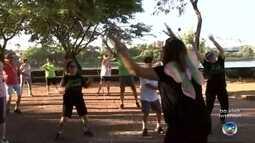 Represa Municipal de Rio Preto oferece aula de ginástica em ritmo de Carnaval nesta quarta