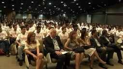 Alunos do Senai participam da primeira aula sobre mudança do sinal analógico para digital