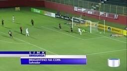 Bragantino disputou o segundo jogo da Copa do Brasil em Salvador