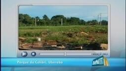 VC no MGTV: Morador reclama de descaso do poder público em residencial em Uberaba