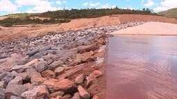 Mineradora Samarco mostra obras que fez para previnir desastres como o de 2015