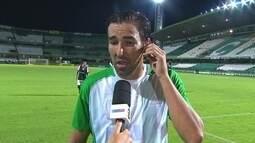 Kível diz que respeitaram o Coritiba mas que não adianta jogar bonito, ganha quem faz gols