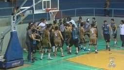 Confusão generalizada adia final do 2º turno do sub-22 de basquete no Amapá