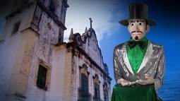 Igreja de N. Senhora do Rosário dos Homens Pretos divide história com Homem da Meia-noite