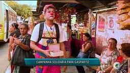 Amigos realizam campanha para ajudar o Palhaço Gasparito