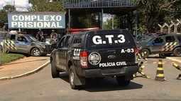 Polícia investiga de onde veio a ordem para iniciar o tiroteio em presídio de Goiás