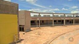 Obras do novo Pronto Socorro de Cuiabá estão em ritmo lento