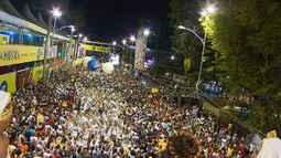 Confira como foi a sexta (24) de carnaval no circuito do Campo Grande