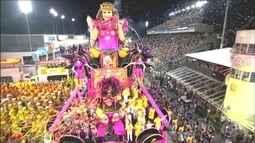 Tom Maior e Mocidade Alegre abrem o carnaval de São Paulo