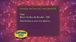 Confira a agenda de Carnaval do Sul do ES