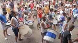 Carnaval na Praça da Matriz em Tatuí anima crianças e adultos