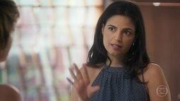 Yara convence Helô a se encontrar com Pedro no Rio de Janeiro