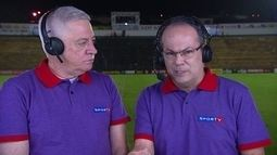 Comentaristas analisam jogo entre Novorizontino e São Paulo pelo Campeonato Paulista