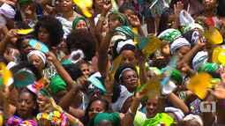 Grupo Didá canta Toté de Maiangá no Campo Grande