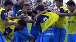 Os gols de Ponte Preta 1 x 1 Corinthians pelo Campeonato Paulista 2017