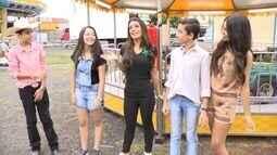 Reveja: Cecília Ribeiro leva participantes do The Voice Kids para parque de diversões