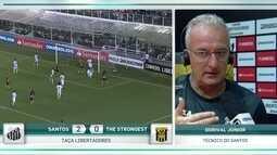 Dorival Júnior analisa vitória do Santos sobre o The Strongest pela Libertadores
