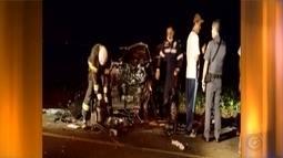 Acidente mata quatro pessoas em rodovia de Cândido Mota