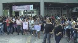 Servidores de Cubatão protestam contra projeto de reforma administrativa