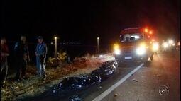 Motociclista morre em acidente na Rodovia Rachid Rayes em Marília