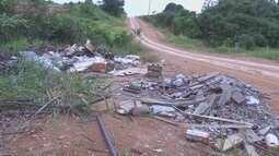 Em Ariquemes, descarte irregular de lixo prejudica população