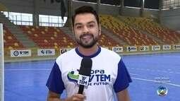Arena Sorocaba recebe a abertura da Copa TV TEM de Futsal