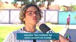 Bairros de Cuiabá vão ter ação contra Aedes aegypti