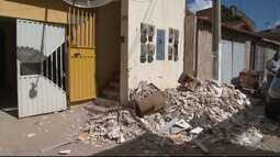 Irecê tenta se refazer do pesadelo vivido quando bandidos explodiram um banco na cidade