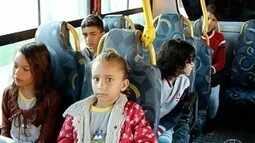 Transporte escolar volta a funcionar na zona rural de Montes Claros