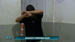 Três homens são presos suspeitos de roubos em Cuiabá