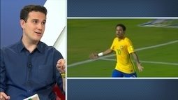 """Comentaristas falam sobre protagonismo de Neymar na Seleção Brasileira: """"Melhor do mundo"""""""